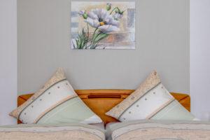 Gästezimmer Bett Detail