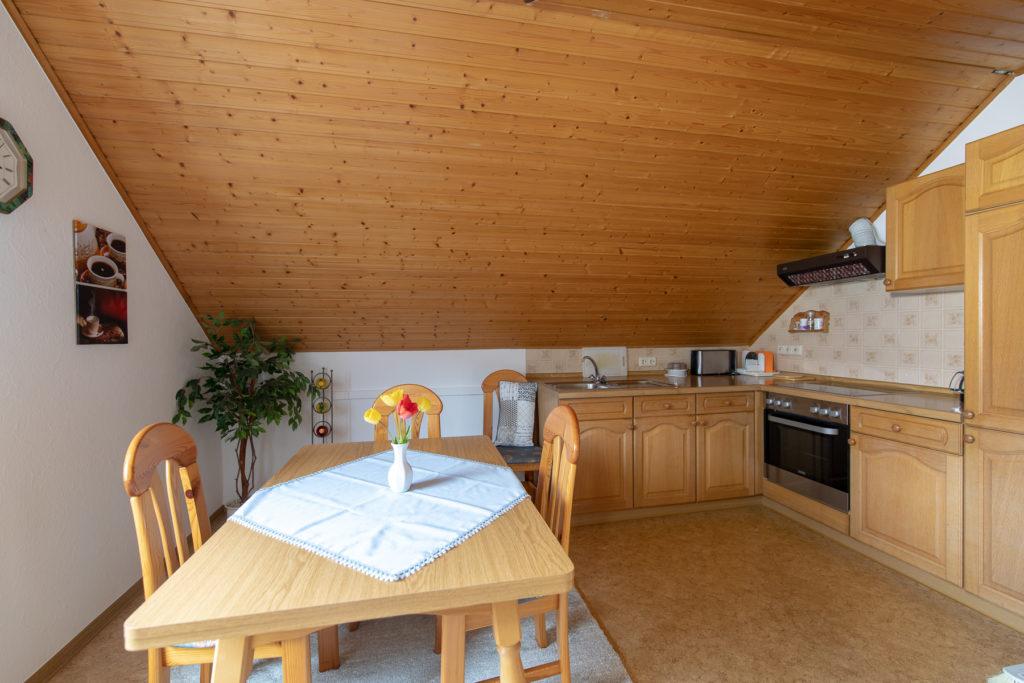 Ferienwohnung Küchenbereich